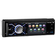 BOSS AUDIO BV7348B Single-DIN 3.2 inch Screen DVD Player, Receiver, Bluetooth, Detachable Front Panel, Wireless Remote