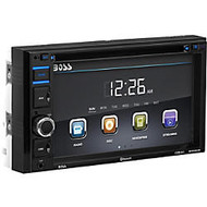 BOSS AUDIO BV9364B Double-DIN 6.2 inch Touchscreen DVD Player, Receiver, Bluetooth, Wireless Remote