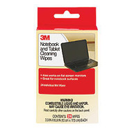 3M™ Notebook Screen Cleaning Wipes, Pack Of 24