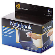 Advantus Notebook Screen Cleaning Pads, Box Of 24