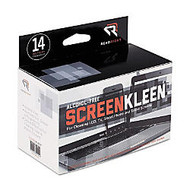 Advantus Screen Kleen Cleaning Wipes - For PDA, Notebook, Display Screen - Alcohol-free - 14 / Box