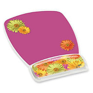 3M Gel Mouse Pads With Wrist Rest - 9.2 inch; x 6.8 inch; Dimension