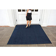 Brush Hog Floor Mat, 3' x 5', Navy Brush