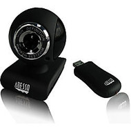 Adesso CyberTrack V10 Webcam - 0.3 Megapixel - 25 fps - USB 2.0