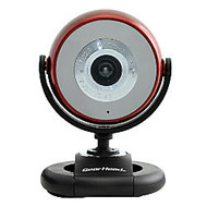 Gear Head Quick WCF2750HDRED-CP10 Webcam - Red - USB