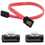 AddOn 15cm (6in) SATA Female to Female Red Serial Cable