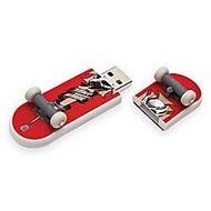 Action Sport Drives Birdhouse/Tony Hawk  inch;Birdman Crest inch; SkateDrive USB Flash Drive, 8GB