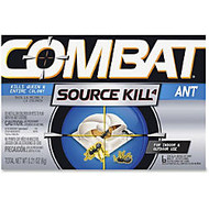 Combat Ant Bait Insectiside - Kills Ants - 0.21 oz (0.01 lb) - Black, Silver