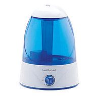 HealthSmart; Cosmo Mist™ Cool Mist Ultrasonic Humidifier, 13 inch; x 9 inch;, Blue