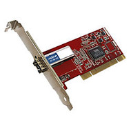 AddOn 100Mbs Single Open SFP Port PCI Network Interface Card