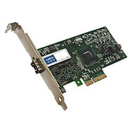 AddOn 100Mbs Single Open SFP Port PCIe x1 Network Interface Card
