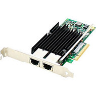 AddOn 10Gbs Dual Open RJ-45 Port 100m PCIe x8 Network Interface Card