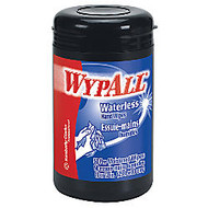 Wypall; Heavy-Duty Waterless Hand Wipes, Orange Scent, 12 inch; x 10 1/2 inch;, Tub Of 50