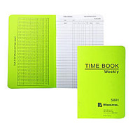 ACCO; / Wilson Jones; Foreman's Pocket-Size Time Book, 1 Page Per Week, 6.75 inch; x 4.12 inch;