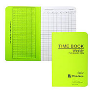 ACCO; / Wilson Jones; Foreman's Pocket-Size Time Book, 2 Pages Per Week, 6.75 inch; x 4.12 inch;