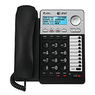 AT&T ML17929 2-Line Corded Speakerphone With Caller ID/Call Waiting, Black