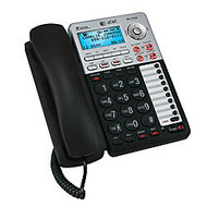 AT&T ML17939 2-Line Corded Speakerphone With Digital Answering System, Black