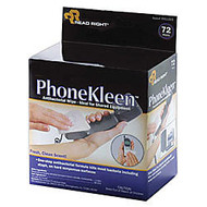 Advantus PhoneKleen™ Cleaning Wipes, Box Of 72 Pads