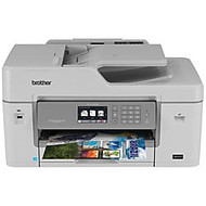 Brother; Business Smart Pro Wireless Color Inkjet All-In-One Printer, Scanner, Copier, Fax, MFC-J6535DW XL