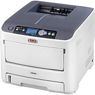 Oki C610N LED Printer - Color - 1200 x 600 dpi Print - Plain Paper Print - Desktop