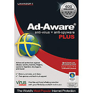 Ad-Aware; Plus, 18-Month/3-License Pack, Traditional Disc