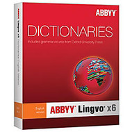 ABBYY Lingvo X6 English Russian Dictionary Upgrade, Download Version