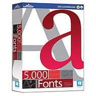5000 Fonts, Download Version