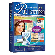 Art Explosion; Publisher Pro; 3.0, Traditional Disc