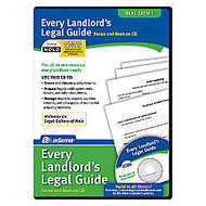 Adams Every Landlord's Legal Guide, For PC/Mac, Traditional Disc