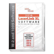 ComplyRight LaserLink XL 2016 Tax Software, Traditional Disc