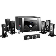PylePro PT798SBA 7.1 Home Theater System - 500 W RMS - Amplifier - Piano Black