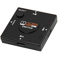 4XEM 3 Port HDMI Switch with full HD support. 3 HDMI devices into 1 HDMI display.