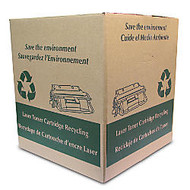 FREE Toner Cartridge Recycling Box With Prepaid Return Shipping Label, 22 inch;H x 20 inch;W x 20 inch;D
