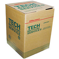 Tech Recycling Box, Large, 24 inch;H x 18 inch;W x 18 inch;D