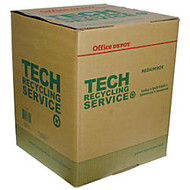 Tech Recycling Box, Medium, 20 inch;H x 16 inch;W x 16 inch;D