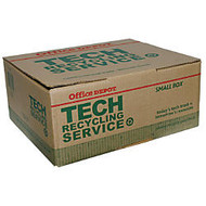 Tech Recycling Box, Small, 8 inch;H x 18 inch;W x 15 inch;D