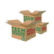 Tech Recycling Collection Service, 18 inch;H x 18 inch;W x 10 inch;D