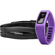 Garmin; vivofit Fitness Band With Heart Rate Monitor, Purple