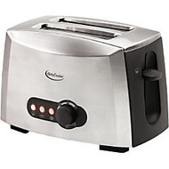 Betty Crocker BC-1618C 2-Slice Toaster (Brushed Stainless Steel)