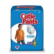 Cutie Pants™, Boys X-Large, 4T-5T, 38+ Lb, Box Of 19