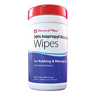 70% Isopropyl Alcohol Wipes, 5 1/2 inch; x 7 inch;