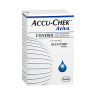 ACCU-CHEK; Aviva 2 Level Glucose Control Solution, High-Low, 2.5 mL