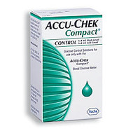 ACCU-CHEK; Compact Blue Control Solution, Mid-High, 4 mL, Pack Of 2