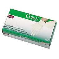 Curad; Powder-Free Latex Exam Gloves, Extra-Large, Box Of 100