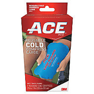ACE Reusable Large Cold Compress, Blue
