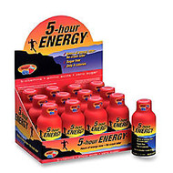 5-Hour Energy™ Original Energy Drink, 2 Oz, Berry, Pack Of 12