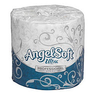 Angel Soft Ultra; Embossed Bathroom Tissue, 400 Sheets Per Roll, Case Of 60 Rolls