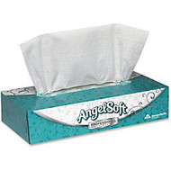 Angel Soft; Professional Series, 2-Ply Tissues, White, Box Of 100