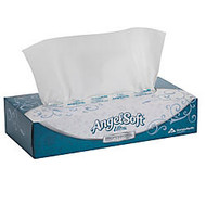 Angel Soft; ps Ultra; Convenience Pack 2-Ply Premium Facial Tissue, Flat Boxes, White, 125 Tissues Per Box, 10 Boxes