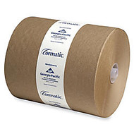 Cormatic 100% Recycled Hardwound Roll Towels, 8 1/4 inch; x 702', Brown, Carton Of 6